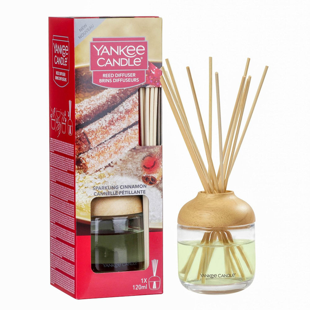Yankee New Reed Diffuser Sparkling Cinnamon