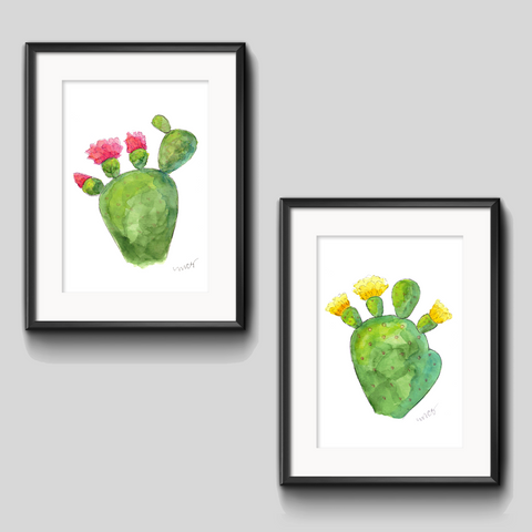 Art Print - Prickly Pear Duo