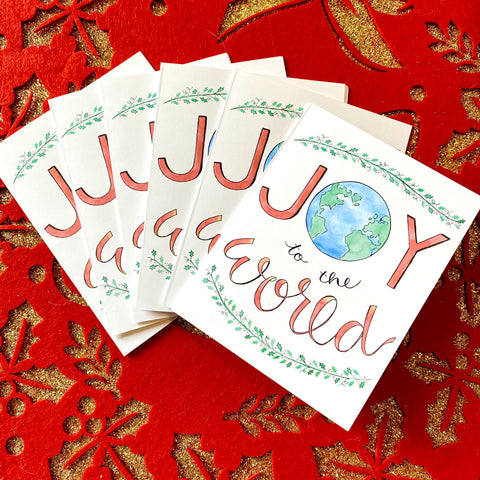 Copy of Christmas Cards - Joy to the World