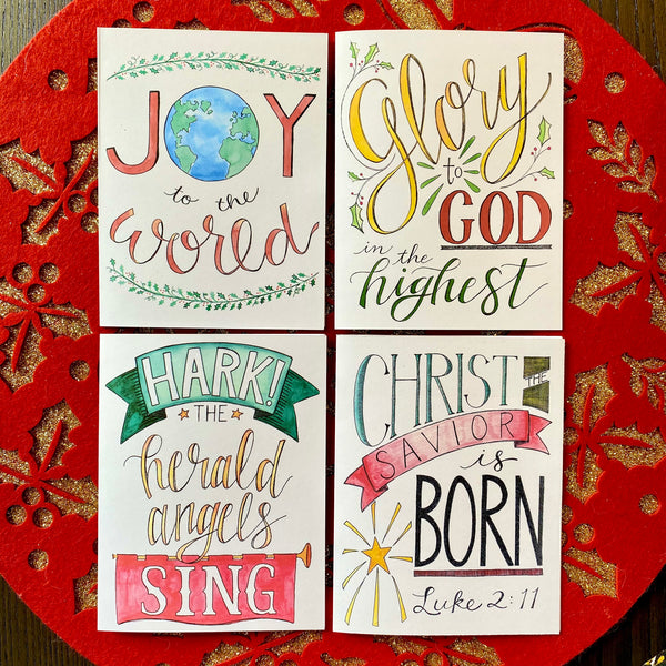 Christmas Cards - Mixed Set