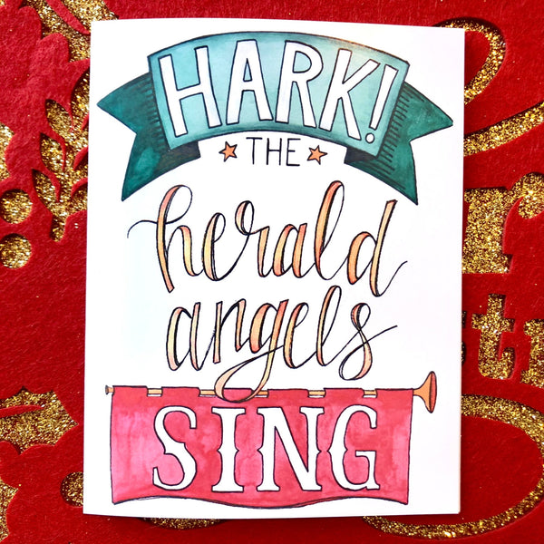 Christmas Cards - Hark the Herald Angels Sing
