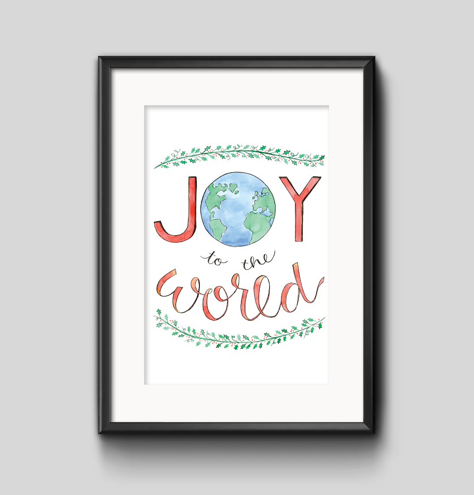Art Print - Joy to the World