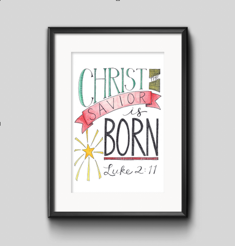 Art Print - Christ the Savior is Born
