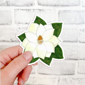 Sticker - Flowers - Magnolia