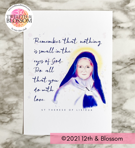 Art Print - St Therese of Lisieux