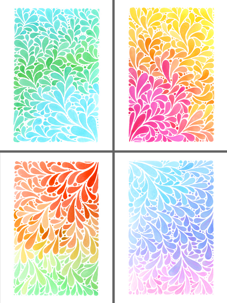 Blank Notecards - Pretty Petals