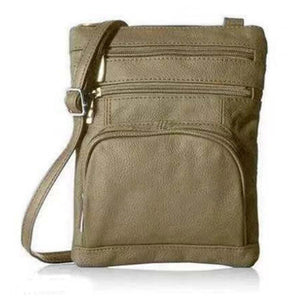 Mysticzone Super Soft Leather Crossbody Bag