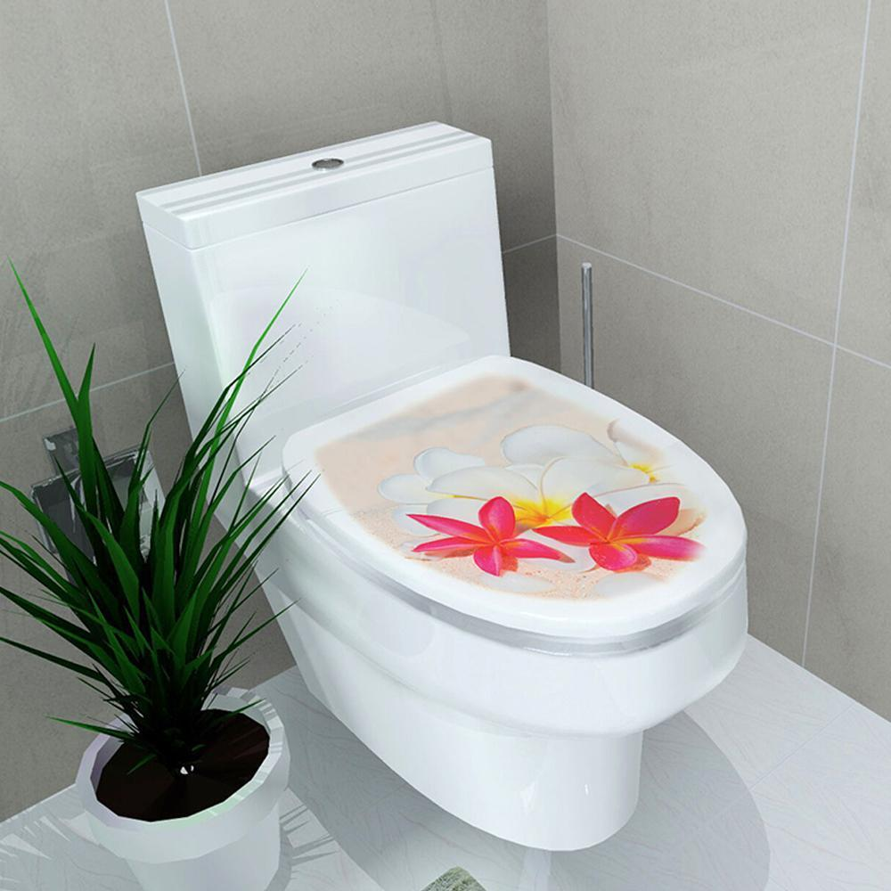 Mysticzone Stickers for Wall Decoration of Toilet Seat