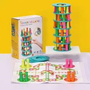 Mysticzone Pisa tower parent-child interactive balance exercise game