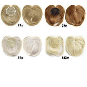 Mysticzone Silky Clip-On Hair Topper