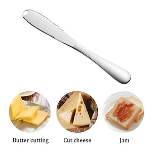 Mysticzone Stainless Steel Butter Knife - 50% OFF