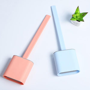 Mysticzone Bathroom Toilet Cleaning Brush And Holder Set