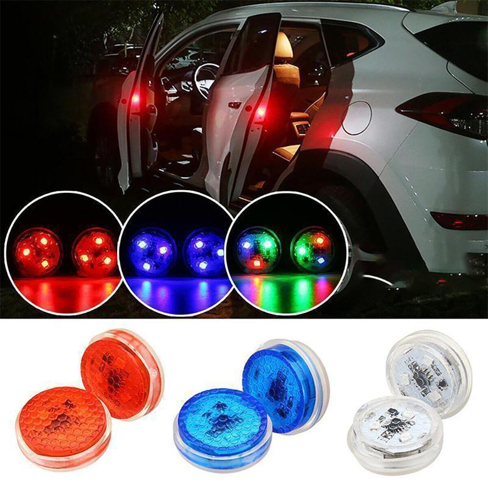 Mysticzone Universal Car Door led Opening Warning Signal Light (2pcs)