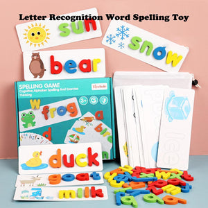 Mysticzone Letter Recognition Word Spelling Toy