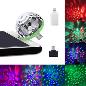 Mysticzone USB Mini Mushroom Light