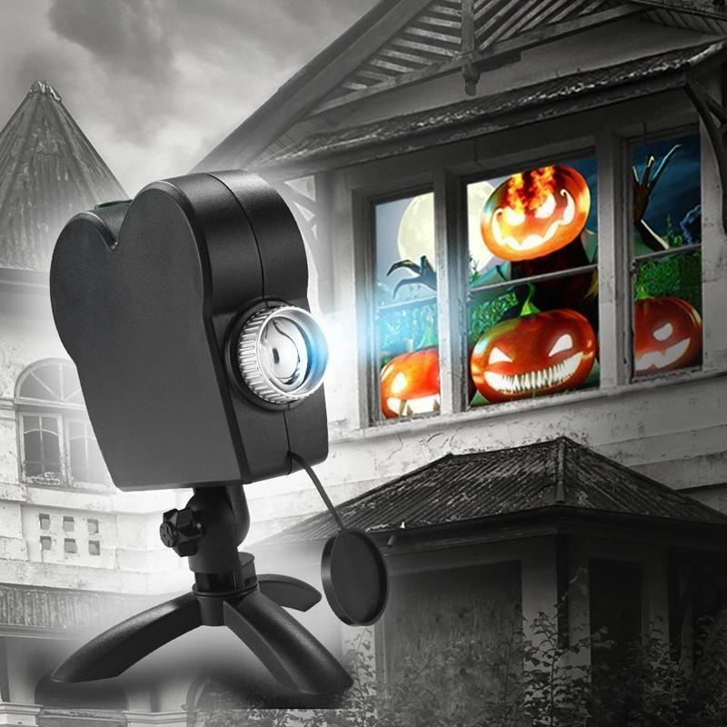 Mysticzone Digital Decor Ghost Projector for Halloween & Christmas