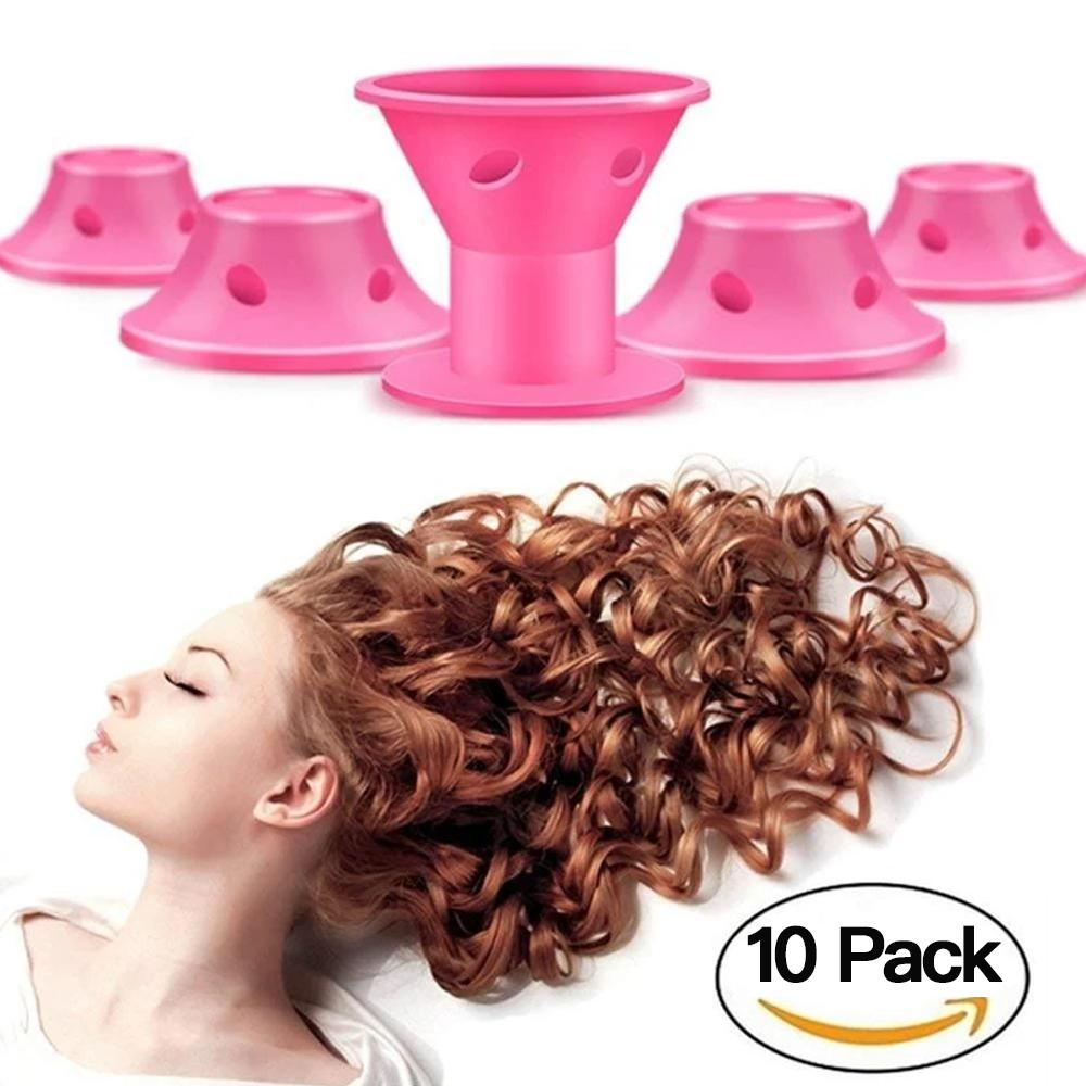 Mysticzone Silicone Hair Curlers