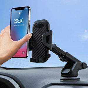 Mysticzone Strong Suction Carbon Fiber Mobile Phone Holder