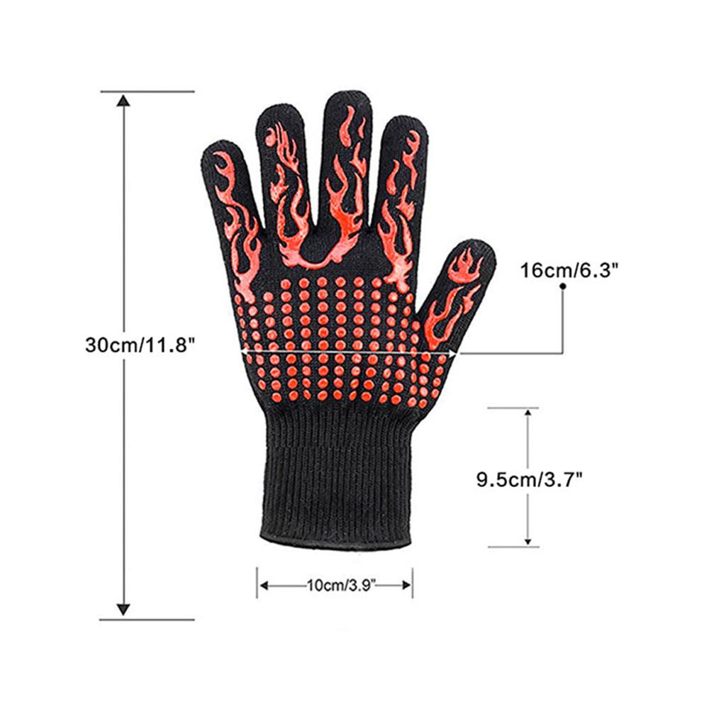Mysticzone Fireproof grill gloves (Buy more, save more)