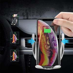 Mysticzone Magic Clip Car Infrared Fast Wireless Charger