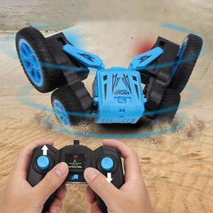 Mysticzone Remote Control Car Double Sided Rotating Tumbling
