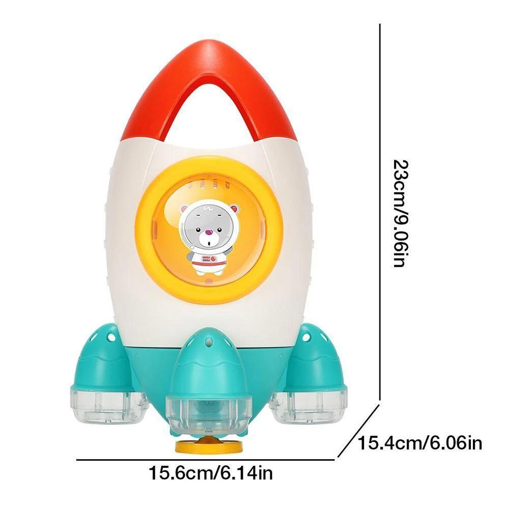 Mysticzone Space Rocket Fountain Shower Toys