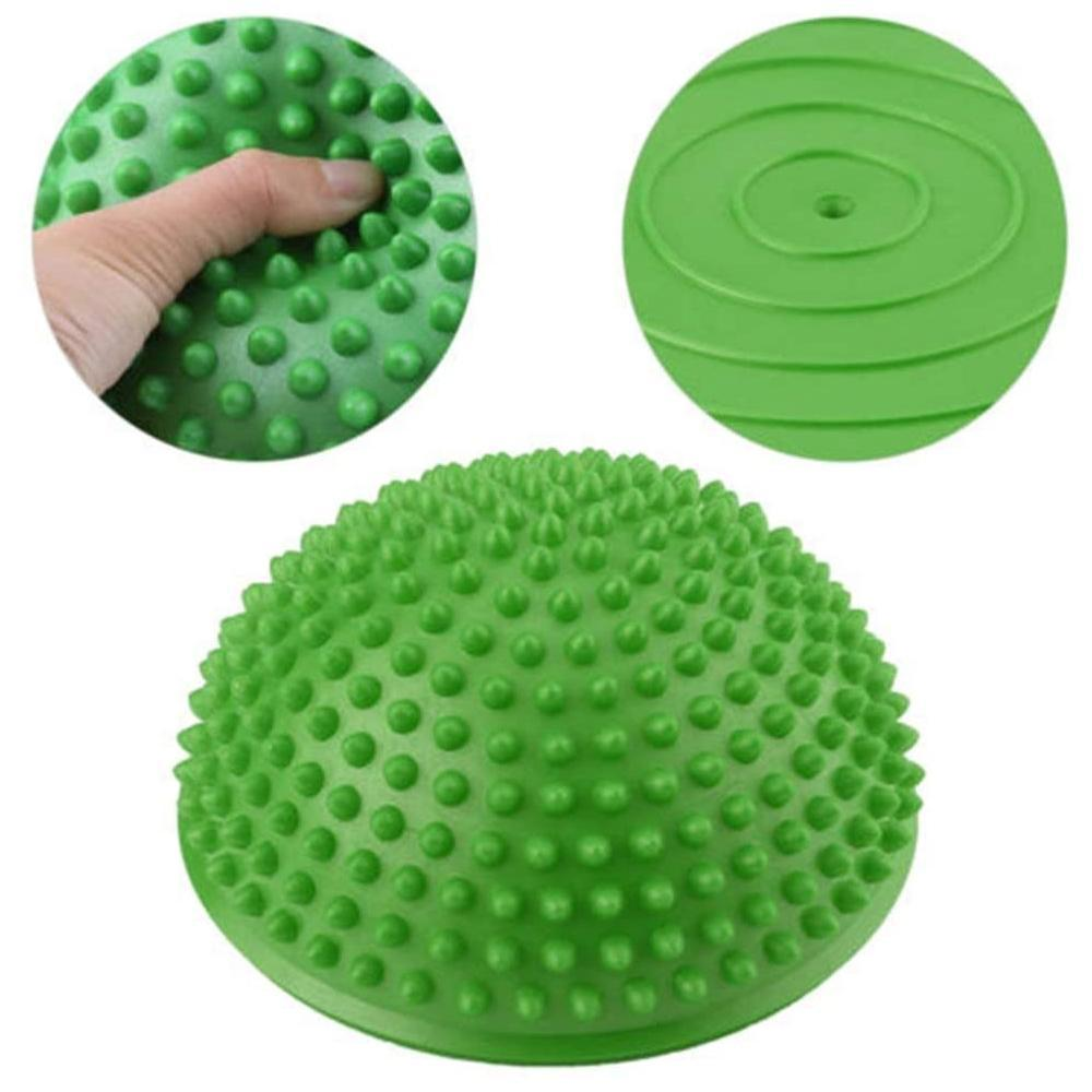 Mysticzone Half Round Massage Ball, Massage Yoga Balls for Children and Adults