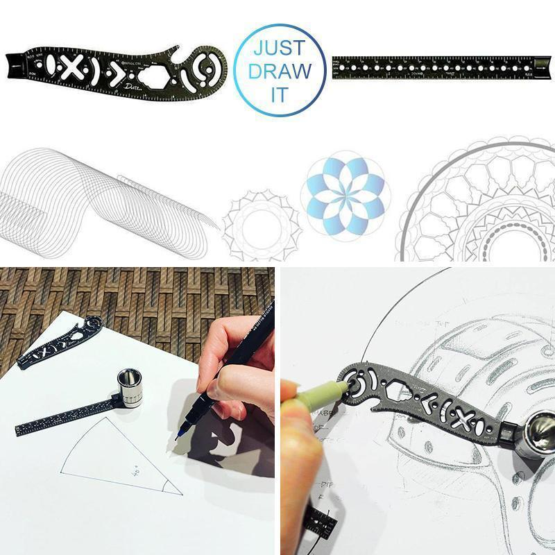 Mysticzone All in One Multi-Function Drawing Tool