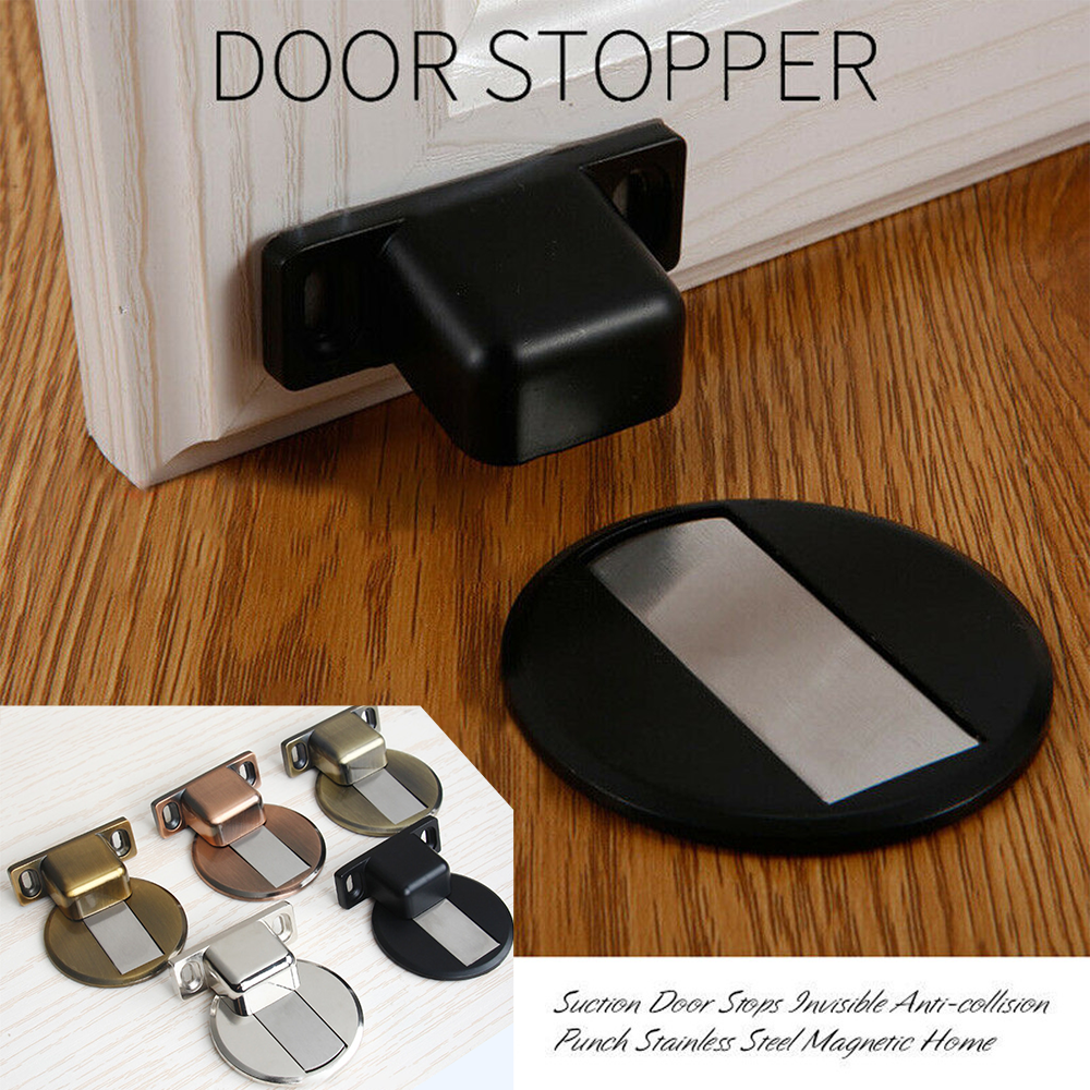 Mysticzone Stainless Steel Invisible Magnetic Door Stop