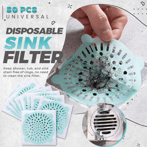 Mysticzone Universal Disposable Sink Filter