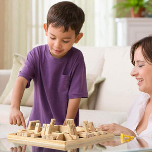 Mysticzone™ Wooden Board Game for Kids& Adults
