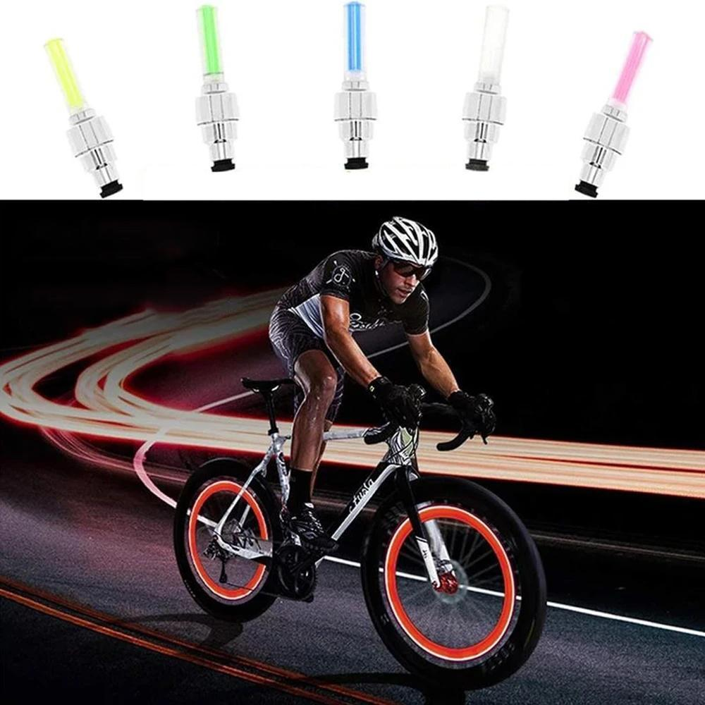 Mysticzone Water Proof Wheel Valve Light For Car/Bike