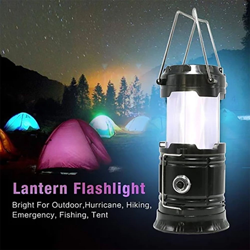 Mysticzone 3-in-1 Camping Flame Lantern Flashlight