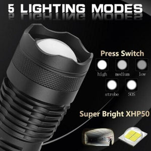 Mysticzone High Lumen Zoomable Most Powerful Flashlight