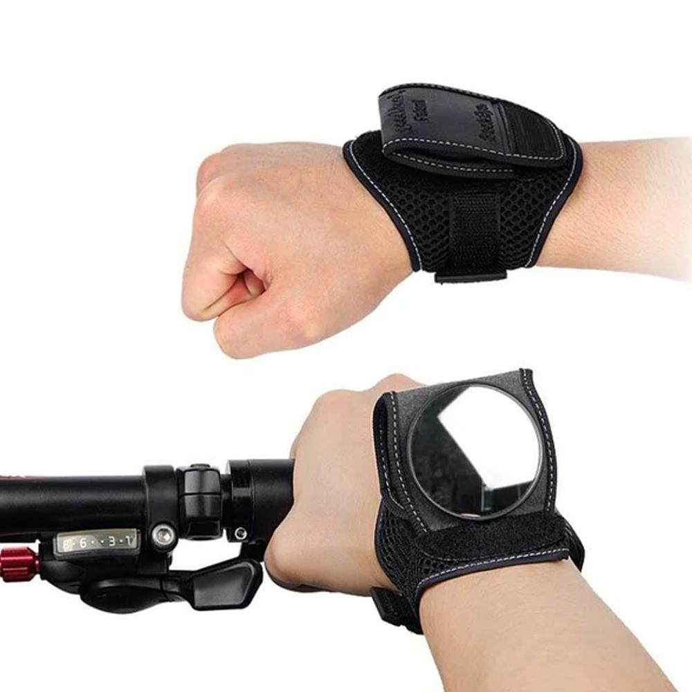 Mysticzone Rearview Mirror Wrist For Bicycle