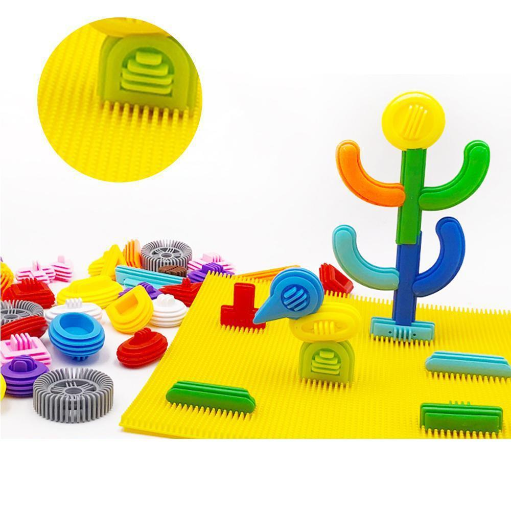 Mysticzone Creative Soft Building Blocks Toy