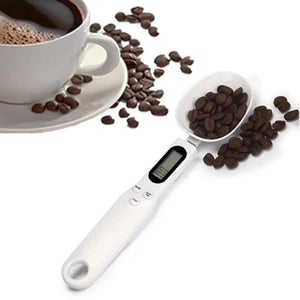 Mysticzone Electronic Measuring Spoon Scale Portable Food Scoop with Digital Display