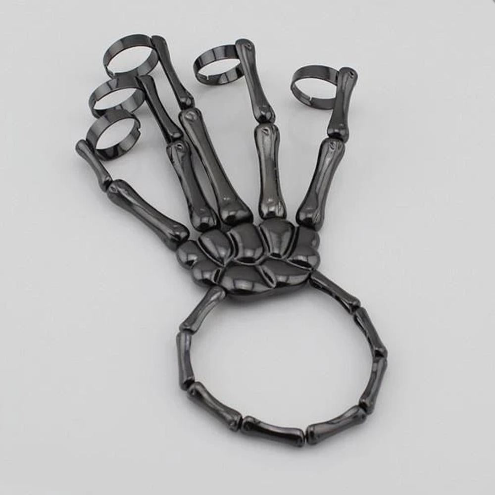 Mysticzone Skelton Hand Bracelet (Adjustable Size)