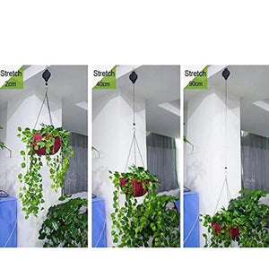 Mysticzone Retractable Hook For Garden Baskets Pots, Birds Feeder