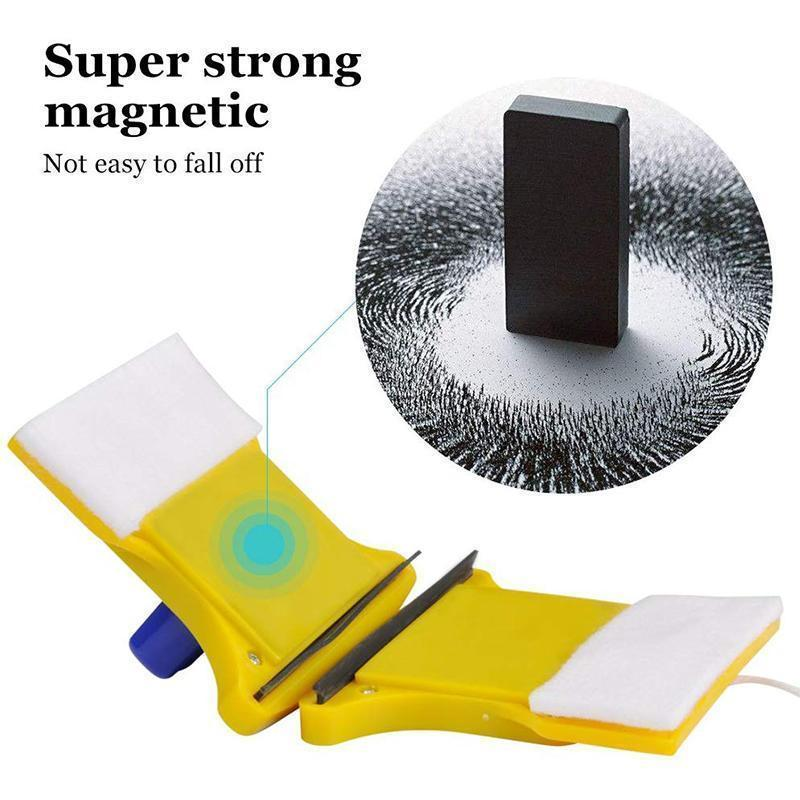 Mysticzone Magnetic Double-sided Window Cleaning Brush