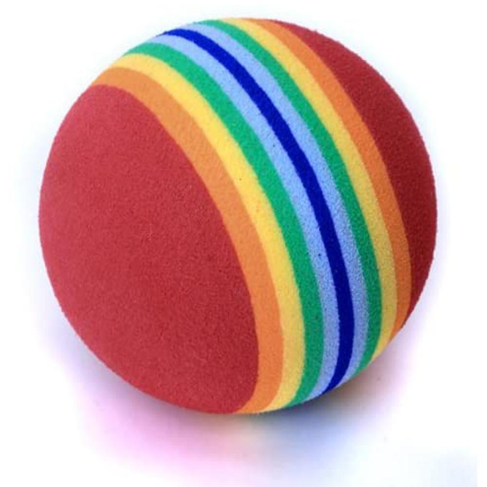 Mysticzone Rainbow Color Practice Golf Balls for indoor and outdoor