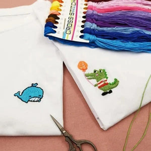 Mysticzone IY Hand Embroidered T-shirt Material Kit