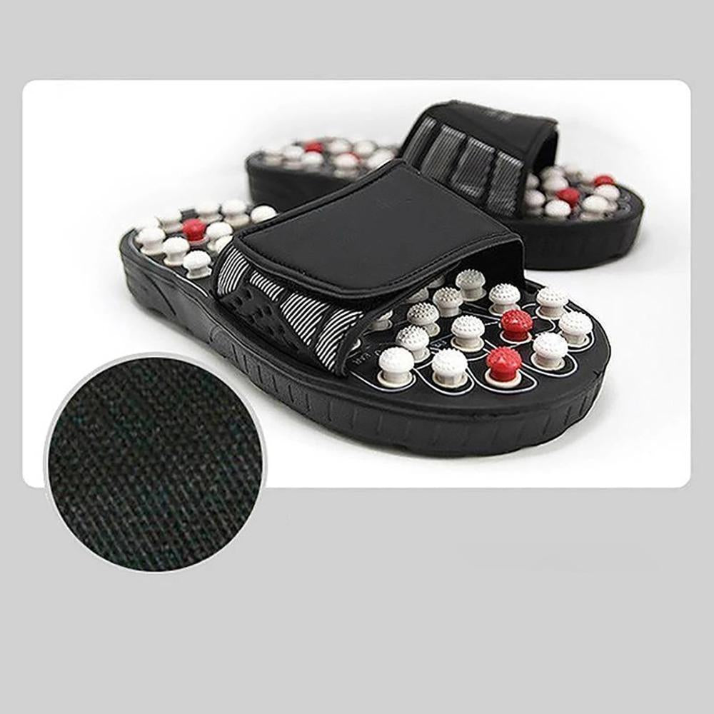 Mysticzone Pressure Relief Foot Massage Slippers