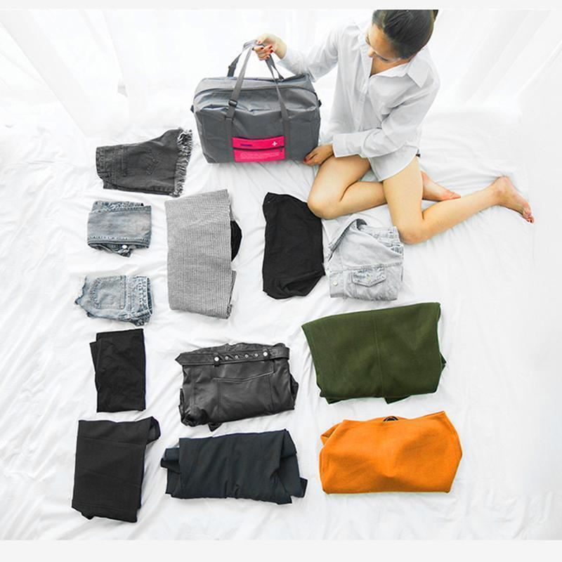 Mysticzone Packable Carry-On Duffel Bag