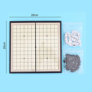 Mysticzone Magnetic Folding Gomoku Kid Puzzle Game Toy Educational