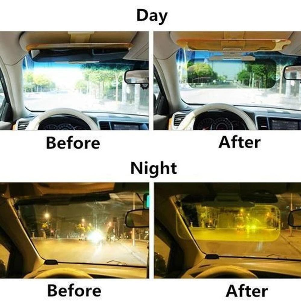 Mysticzone CAR SUN VISOR DAY NIGHT ANTI-DAZZLE