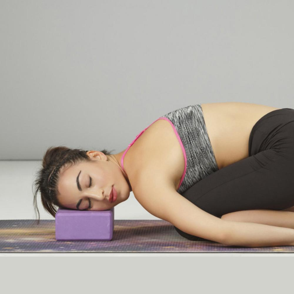 Mysticzone High Density Yoga Block Lightweight Foam Brick For Deepen PosesPilates