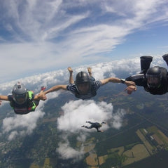 Skydive Image Belly