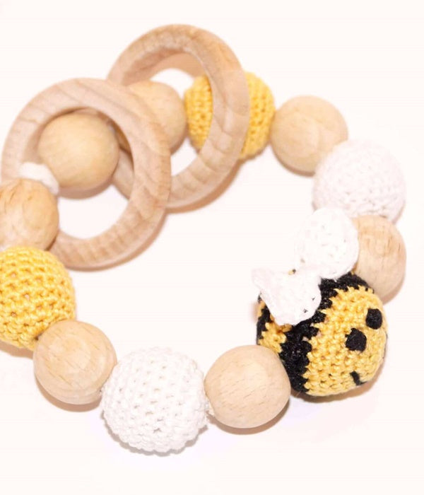Bee Teething Bracelet