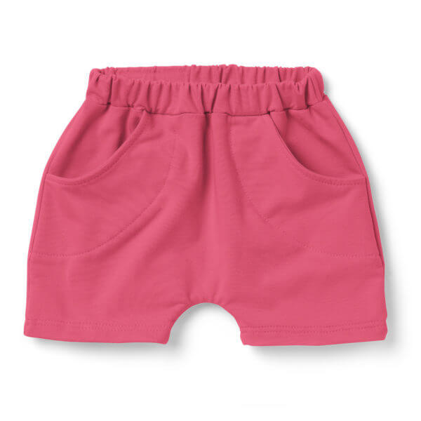 Girl's Cotton Shorts. Lovingly handcrafted in Poland.
